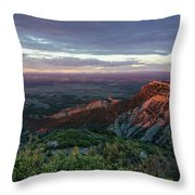 Mesa Verde Soft Light Throw Pillow