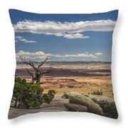 Mesa View In Utah Throw Pillow