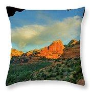 Mescal Mountain 04-012 Throw Pillow