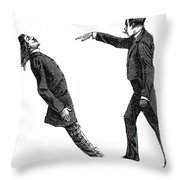 Mesmerism, 19th Century Throw Pillow