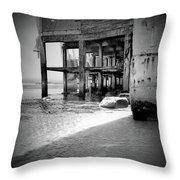 Mesmerizing Beach Throw Pillow