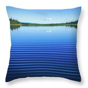 Mesmerizing Ripples Throw Pillow