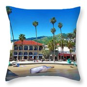 Message In A Bottle Throw Pillow