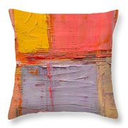 Messages 1 Throw Pillow