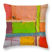 Messages 2 Throw Pillow
