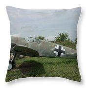 Messerschmitt Bf109 - 2 Throw Pillow