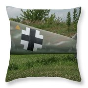 Messerschmitt Bf109 - 3 Throw Pillow