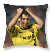 Messi 2 Throw Pillow