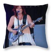 Messina Making Music Throw Pillow