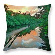 Messing About In Boats Throw Pillow