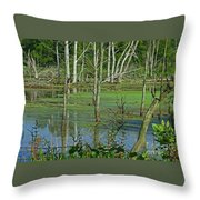 Messy Beauty Throw Pillow