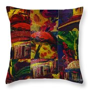 Messy Imagination  Throw Pillow