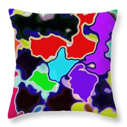 Messy Thing Throw Pillow