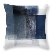 Mestro 2- Abstract Art By Linda Woods Throw Pillow