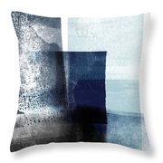 Mestro 4- Abstract Art By Linda Woods Throw Pillow
