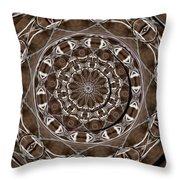 Metal Art Throw Pillow
