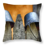 Not Soldiers Throw Pillow
