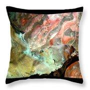Metal Detail 3 Throw Pillow