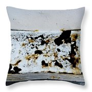 Metal Horizon Throw Pillow