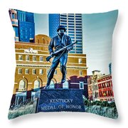 Medal Of Honor Throw Pillow