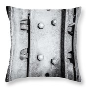 Metal Tank Scale Of Unity Throw Pillow