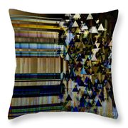 Metallic Drop Throw Pillow