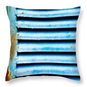 Metallic Shutter Throw Pillow