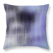 Metallic Weaving Pattern Throw Pillow