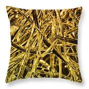 Metallurgy Throw Pillow