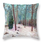 Metamorphic Dream Sequence - Panel 2 Throw Pillow