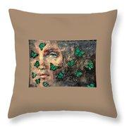 Metamorphosis 3 Throw Pillow