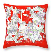 Metamorphosis 4a Throw Pillow