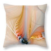 Metamorphosis Throw Pillow by Amanda Moore