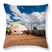 Meteor City Trading Post Throw Pillow