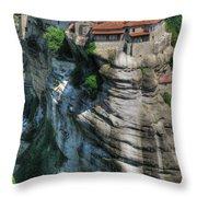 Meteora Throw Pillow