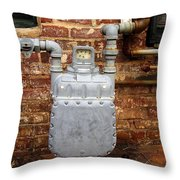 Meter II In Athens Ga Throw Pillow