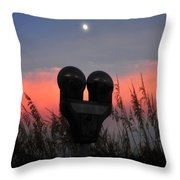 Meter Man Throw Pillow