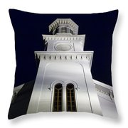 Methodist Steeple Throw Pillow