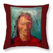 Metis Throw Pillow by Johanna Elik