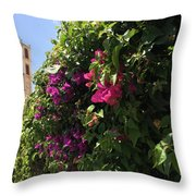 Metropolis Of Larnaca  Throw Pillow