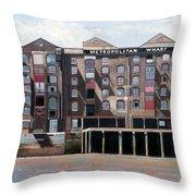 Metropolitan Wharf Throw Pillow