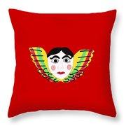 Mexican Cherub Throw Pillow