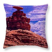 Mexican Hat Throw Pillow