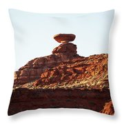 Mexican Hat, Utah Throw Pillow