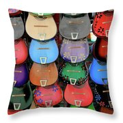 Mexican Marketing Place.jpg Throw Pillow