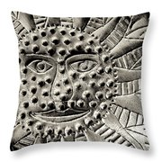 Mexican Mirror Detail Throw Pillow