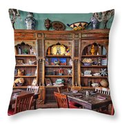 Mexican Restaurant Decor Throw Pillow