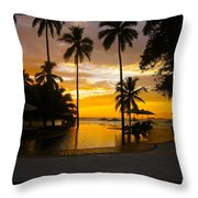 Mexican Sunset Throw Pillow