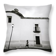 Mexican Twilight Throw Pillow