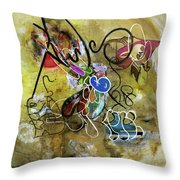 Mexicans Vs Jews Throw Pillow